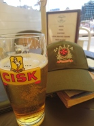 Cisk is the No1 local brew. It not bad at all, and it's cheaper than coffee.