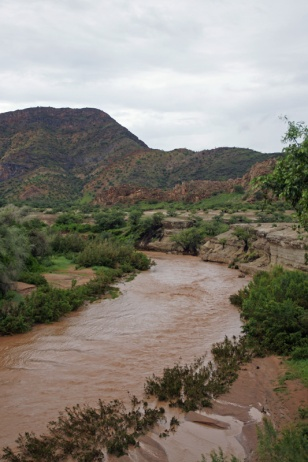 Khowarib in the rainy season - View from the Community Camp
